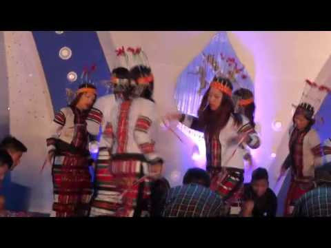 Mizo Bamboo Dance at Mysuru during  Dasara...
