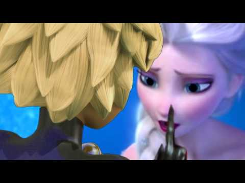 Chat Noir And Elsa    I Hate You, I Love You