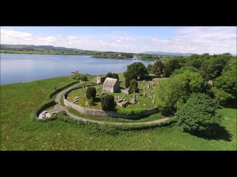 Loch Leven Castle DJi Phantom Flight