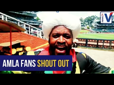 WATCH: Fans send their love to Hashim Amla on his 100th Test