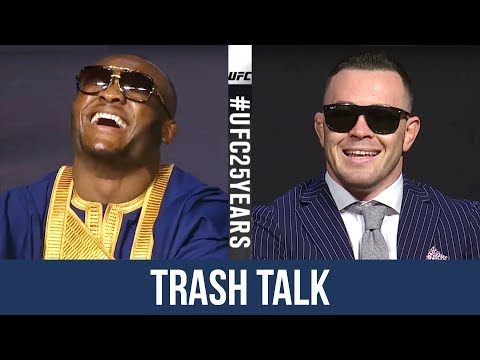 Colby Covington vs Kamaru Usman Funniest Moments and Trash Talk at UFC Press Conference Highlight