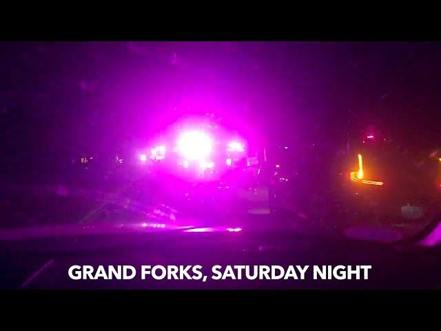 BREAKING NEWS: Saturday Night Grand Forks Crash