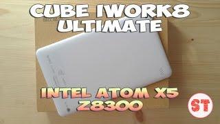 Cube iWork8 Ultimate - планшет на Windows 10 + Andoid 5.1, розпакування