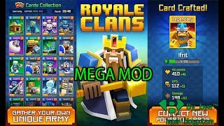 Royale Clans Clash of Wars v4.10 | PARA HİLELİ -  Android