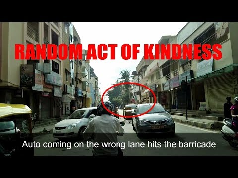 Random Act of Kindness in India | Helping the Cops | Jaywalking