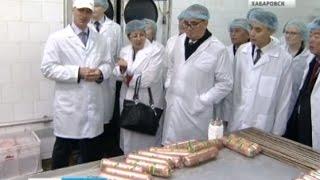 Вести-Хабаровск. Министр иностранных дел КНДР Ли Су Ён посетил Хабаровск