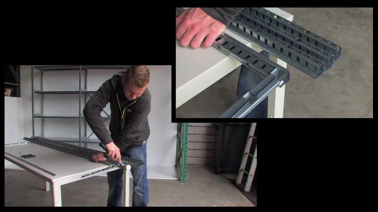 Magazijn Stelling Metaal.Metalen Stellingkast Monteren Instructievideo Metalen Stelling Gs