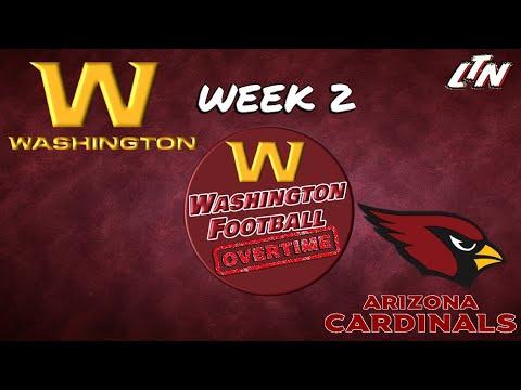 Washington Football OVERTIME  |  Washington @ Arizona Week 2 Postgame Analysis LIVE!