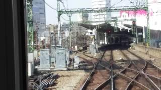 京浜急行電鉄1285SH前面展望京急川崎~泉岳寺