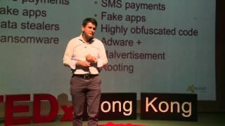 Rise of Mobile Threats | Gagan Singh | TEDxHongKongSalon