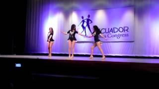 Ecuador Salsa Congress 2013 - Special Dance Performance (Trio)