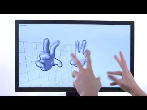 Leap Motion V2 Tracking Developer Beta - Demo