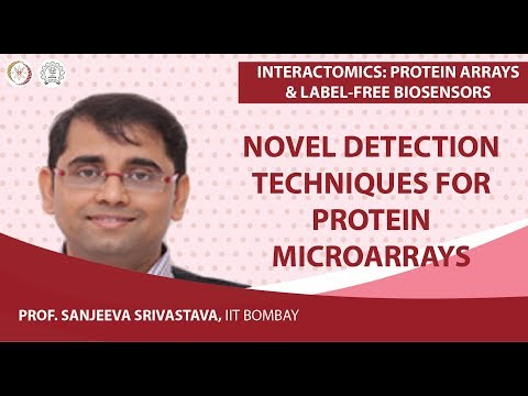 Novel detection techniques for Protein microarrays