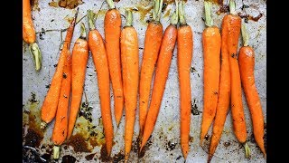 Honey Roasted Carrots - You Suck at Cooking (Why is good for you ?)