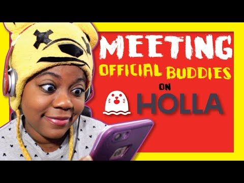 Fan meet greet with the holla app youtube fan meet greet with the holla app m4hsunfo
