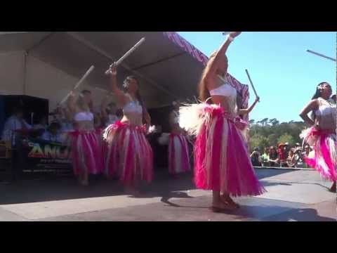 Anuanua performing arts @ pasifika 2013