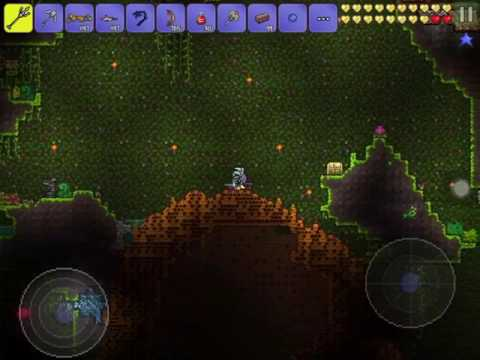 Terraria tutorial/How to mine chlorophyte ore