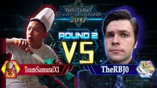 Yu-Gi-Oh! YugiTuber Grand Championship 2017 R2 | TeamSamuraiX1 vs. TheRJB0!