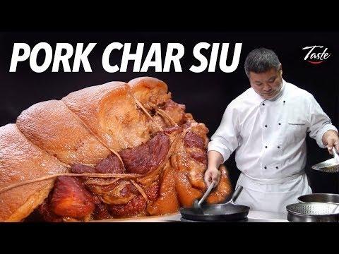 Chef's favorite char siu pork recipe 主廚最愛的叉燒豬骨麵(紮蹄膀湯麵)