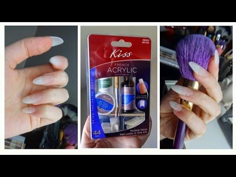 Kiss Acrylic Nail Kit Demo Tutorial