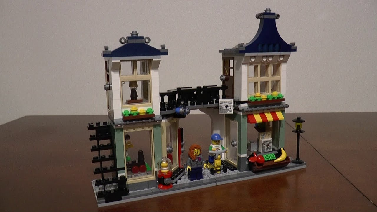 Lego Creator 31036 Sklep Z Zabawkami I Owocami Część 2 Youtube
