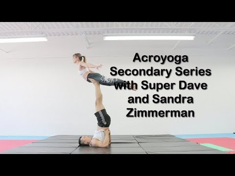 Acroyoga Secondary Series with Super Dave and Sandra Zimmerman