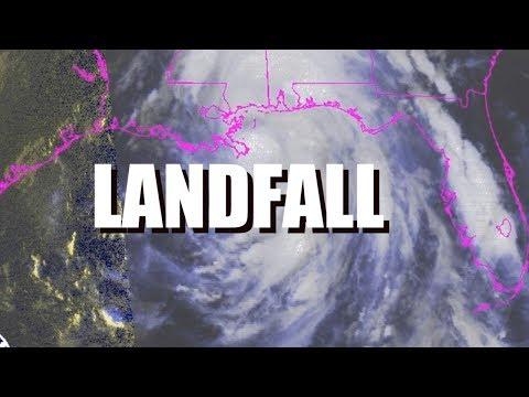 Hurricane Nate makes Landfall