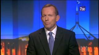 Leigh Sales beats Tony Abbott with the truth