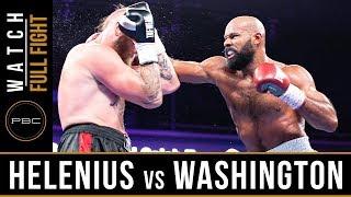 Helenius vs Washington FULL FIGHT: July 13, 2019 - PBC on FS1