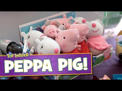 Peppa Pig Camping Van, Pirate Ship and more from Jazwares at Sweet Suite 2015