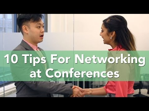 Top 10 Business Tips for Networking at Conferences