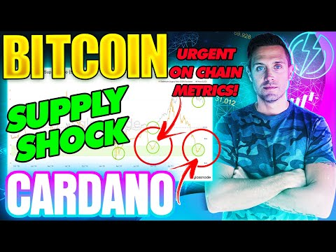 BITCOIN SUPPLY SHOCK INCOMING? CARDANO PRICE MAKES POWER MOVE!