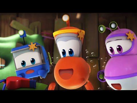 Мультфильм для детей - Марин и его друзья - Подводные истории - Украшаем штаб-квартиру