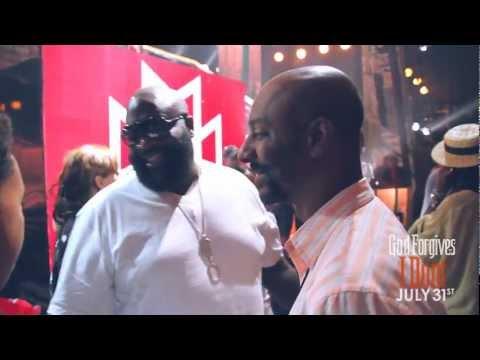 Rick Ross, Wale & Meek Mill At The 2012 BET Awards, Rozay Announces Gunplay Solo Deal On Def Jam + Meek Clownin Michael Blackson