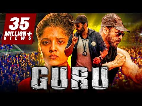 Guru Hindi Dubbed Full Movie | Venkatesh, Ritika Singh, Nassar