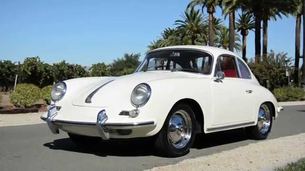 1962 porsche 356b coupe ivory youtube. Black Bedroom Furniture Sets. Home Design Ideas