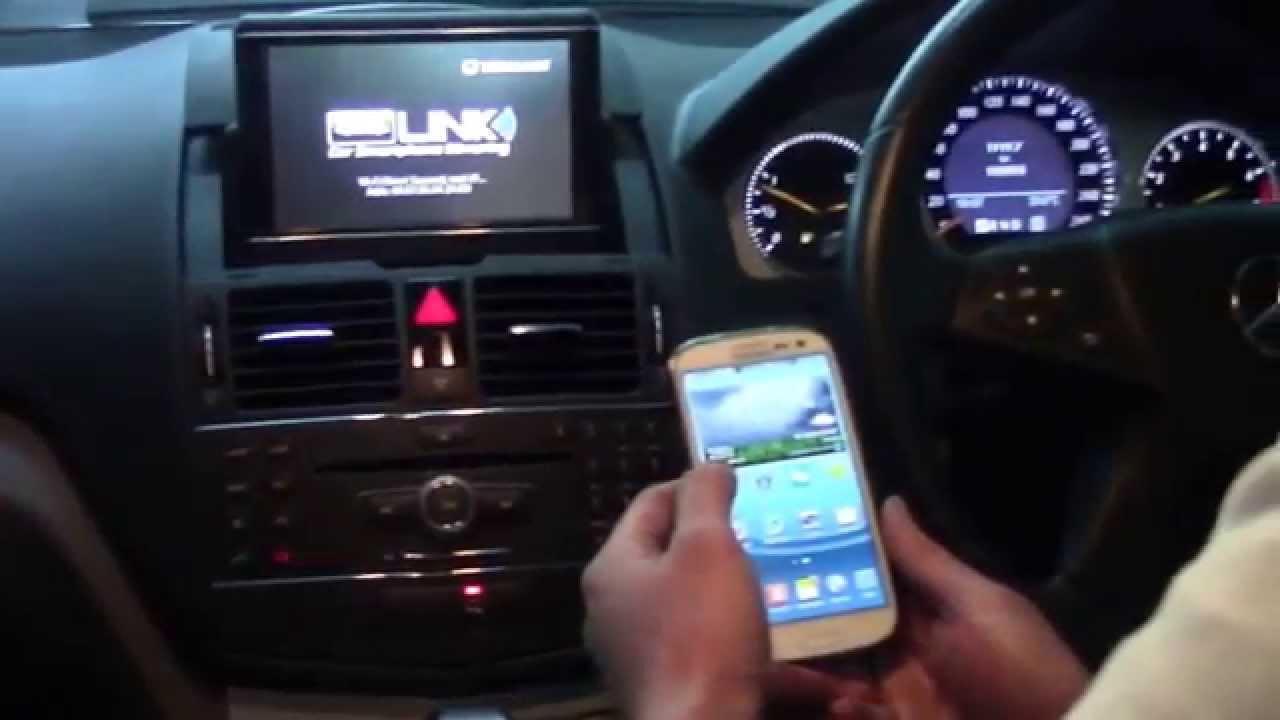 Backup Camera System >> Mercedes C Class (W204) - Fm conversion, Mirror link ...
