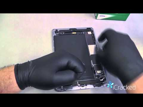 Official iPad Mini Screen / Digitizer Replacement Video & Instructions – www.iCracked.com