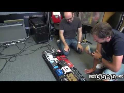Radiohead's Ed O'Brien's pedalboard build TheGigRig G2