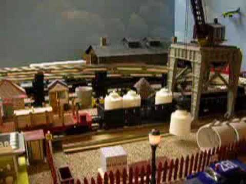 Model Railroad Toy Train Track Plans -Super Lionel Trains Operating Cars & Accessories