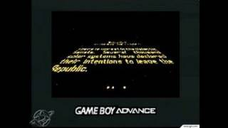 Star Wars: Episode II Attack of the Clones Game Boy Gameplay