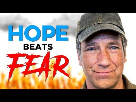 Hope beat fear on a Sunday afternoon thanks to Mike Rowe's mom