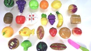 Velcro Cake Fruit Bread Hamburger Cutting Toy Pororo Super Wings 过家家 玩具 水果切切看
