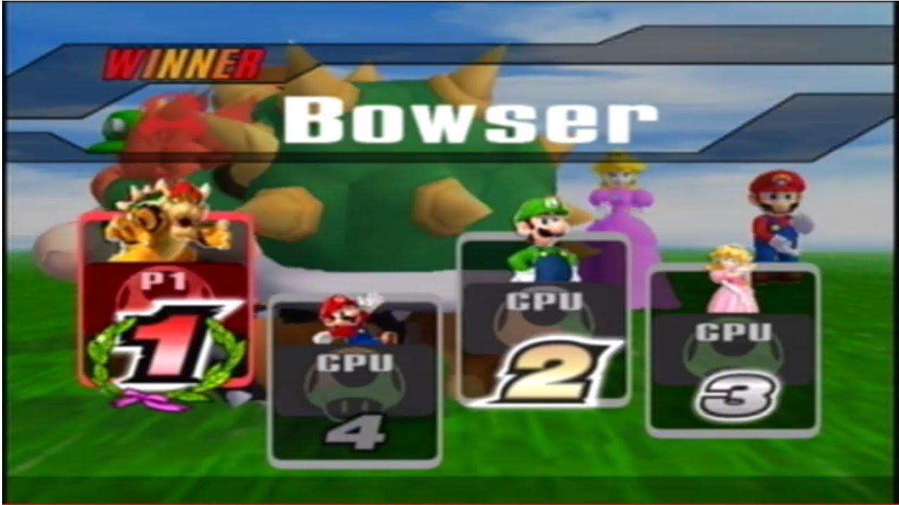 SSBB Hacks Bowser Mario Luigi And Peach YouTube