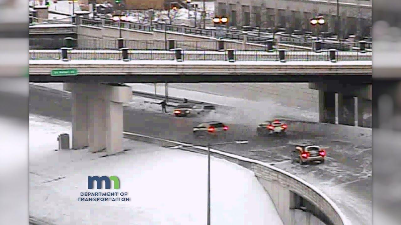 Traffic Cam: Multi-Vehicle Crash on Eastbound I-94
