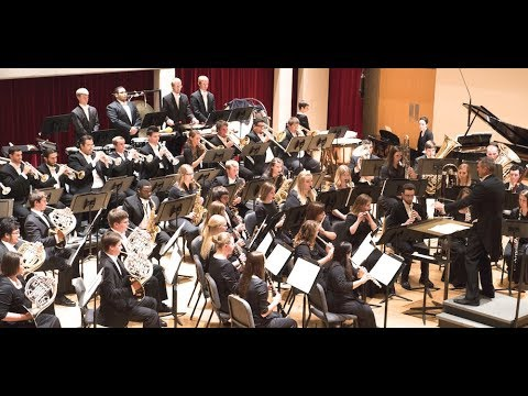 School of Music's Annual Scholarship Concert - featuring the WIU Wind Ensemble, Symphony Orchestra,