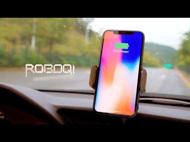ROBOQI Wireless Car Charger video thumbnail