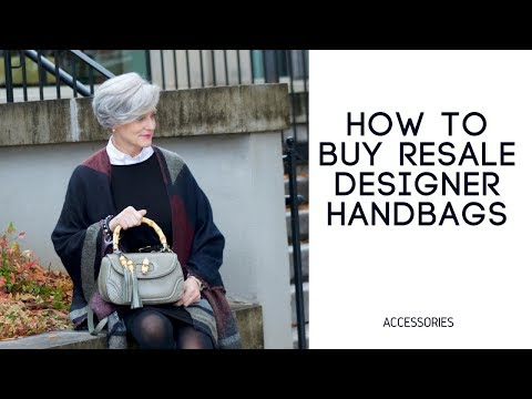 how to buy resale luxury handbags
