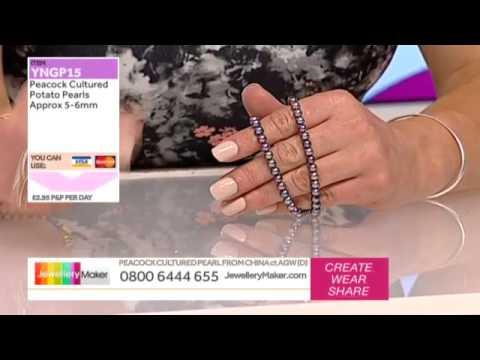 How to Make Beaded Jewellery: JewelleryMaker LIVE 29/06/2015