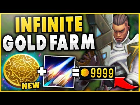 HOW TO INFINITELY FARM EVERY CHAMPION TOP LANE! SEASON 9 KLEPTO LUCIAN GAMEPLAY! - League of Legends